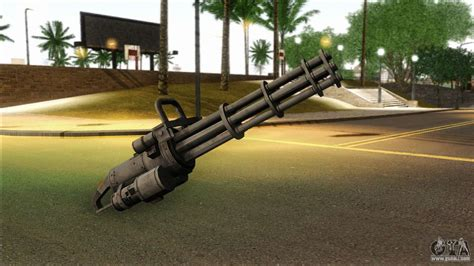 Ammunition Gta San Andreas Minigun Ammunition.