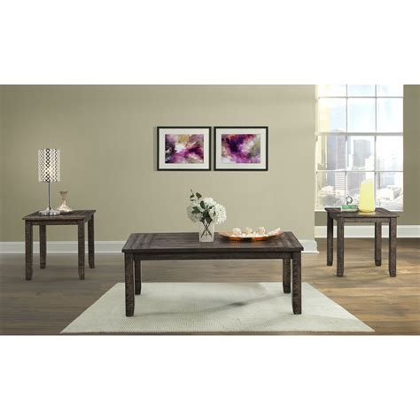 Guerande Occasional 3 Piece Coffee Table Set