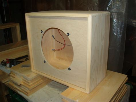 Guitar Speaker Cabinet Plans