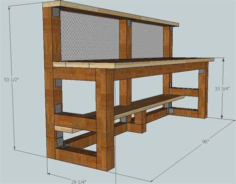Gunsmith Bench Plans