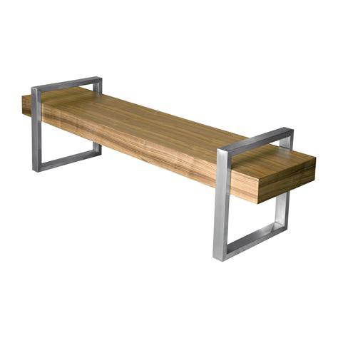 Gus Modern Return Wooden Bench