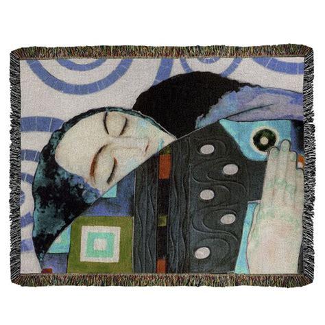 Gustav Klimt Embrace Cotton Thro by