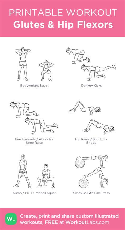 gym hip flexor workout bodybuilding plan pdf