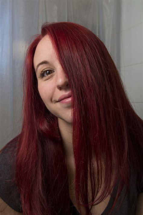 Haare Rot Tönen