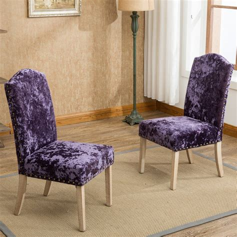 Hadas Fabric Parsons Chair (Set of 2)