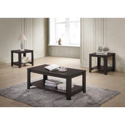 Halbert 3 Piece Coffee Table Set