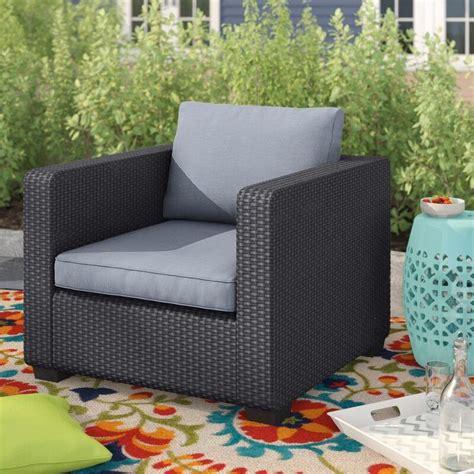 Halloran Patio Chair with Sunbrella Cushions