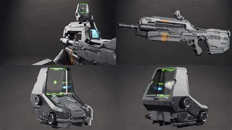 Rifle-Scopes Halo 5 Battle Rifle Smartlink Scope Mode.