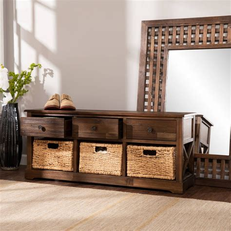 Halton Wood Storage Bench