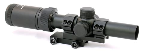 Rifle-Scopes Hammers 1-4x20 Compact Short Rifle Scope.