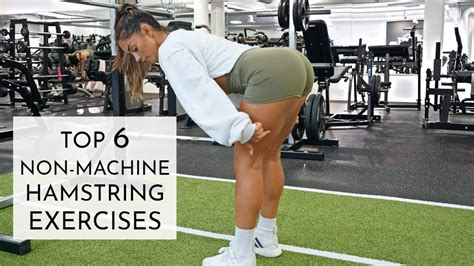 hamstring exercises without a gym