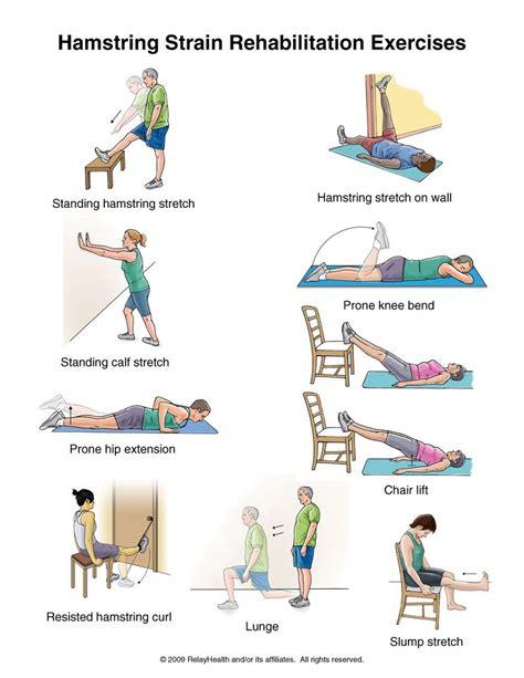 hamstring stretch hurts back of knee
