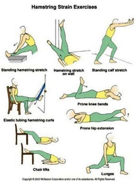 hamstring stretches rehabilitation