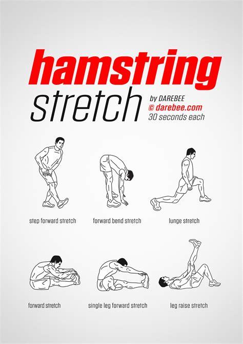 hamstring stretching exercises pdf