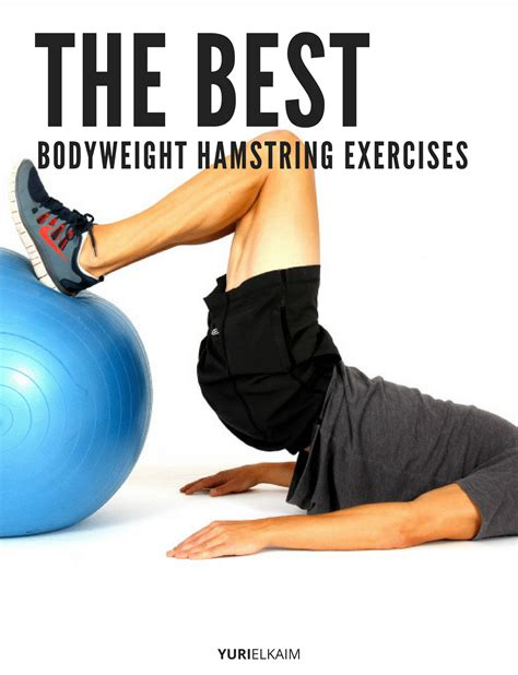 hamstrings exercises bodyweight