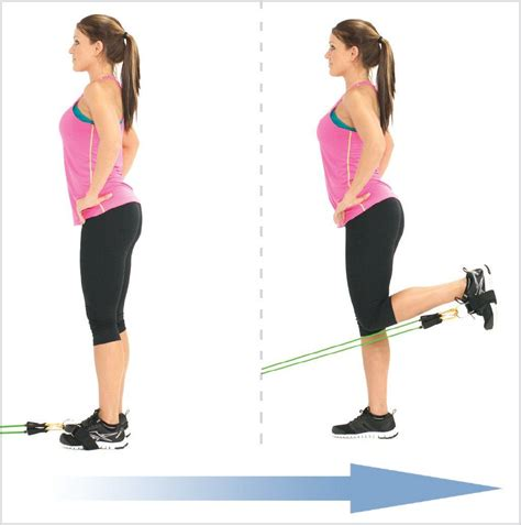 hamstrings exercises with resistance bands