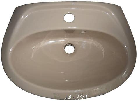 Handwaschbecken Beige