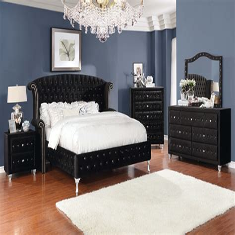 Hank Upholstered Platform Bed (Set of 7) byBrayden Studio