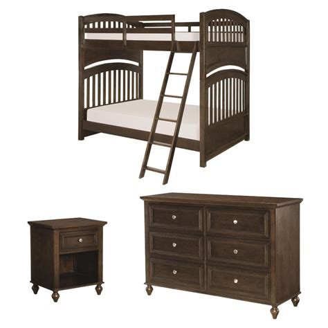 Hannah Full Bunk Bed Configurable Bedroom Set by Viv + Rae