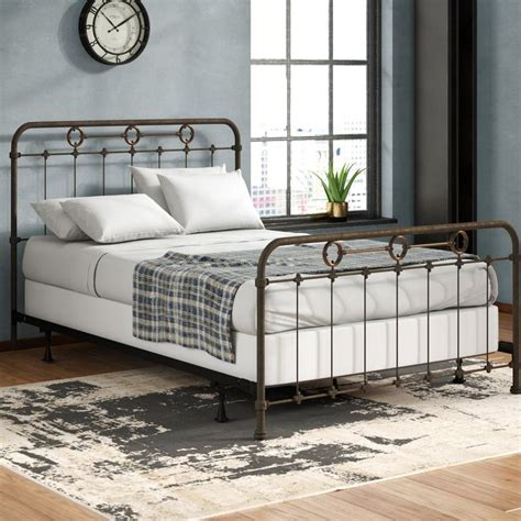 Hannes Panel Bed by 17 Stories
