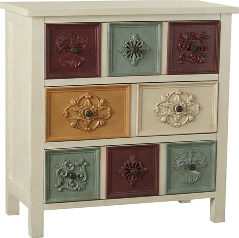 Hansali Contemporary 3 Drawer Chest