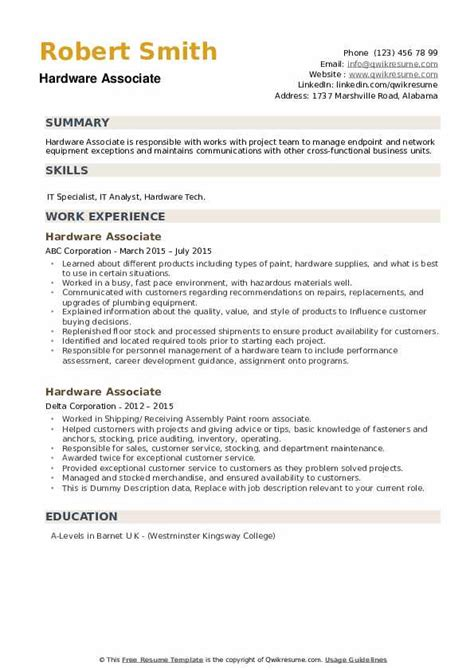 hardware networking resume samples doc free download of resume format for freshers domov - Hardware And Networking Resume