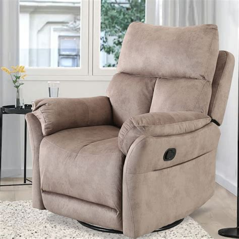 Harlen Swivel Rocker Armchair