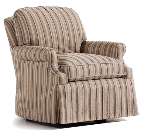 Harlen Upholstered Swivel Rocker Armchair