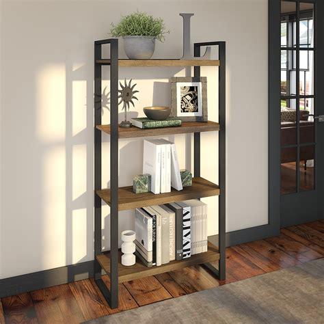 Harper Eliptical 4 Shelf Etagere Bookcase