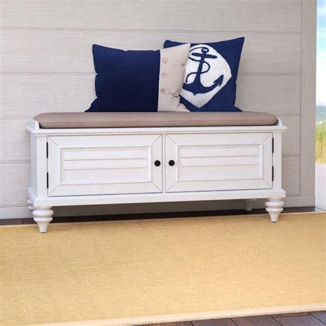 Harrison Upholstered Storage Bench