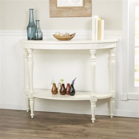 Hassan Demilune Console Table