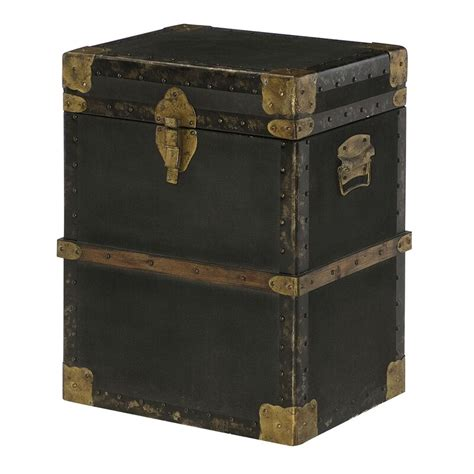 Hassani Trunk End Table
