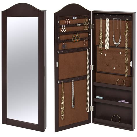 Hayek Jewelry Armoire with Mirror