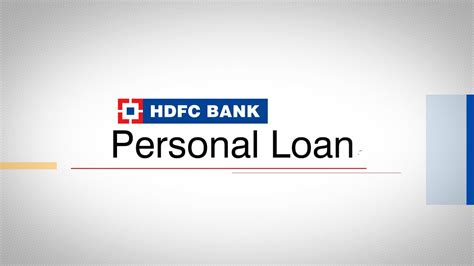 Hdfc Credit Card Payment Through Indian Bank Hdfc Bank Personal Loan