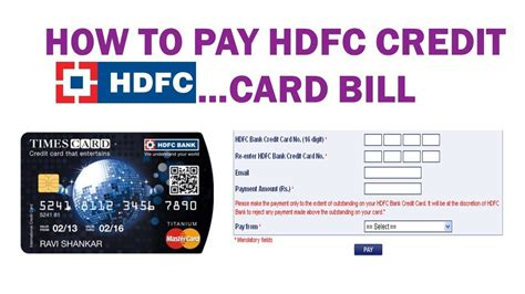 Hdfc Credit Card Bill Payment Rules Hdfc Credit Card Payment Through Debit Cards Sbi Icici