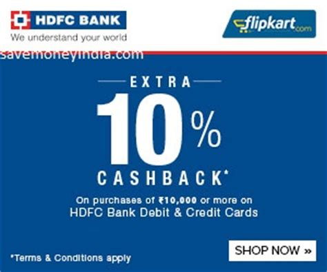Hdfc Credit Card Cash Back Offers On Samsung Mobiles Flipkart Hdfc Debit Credit Cards Offers 10 14 October 2018
