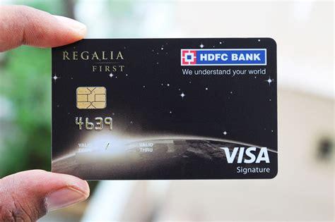 Credit Card Cash Hdfc Hdfc Regalia Credit Card Loyalty Program For Hdfc Bank