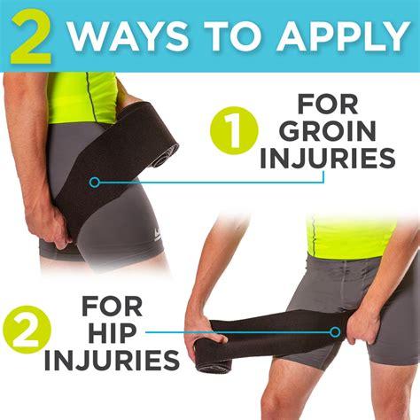 healing a hip flexor injury wrapping
