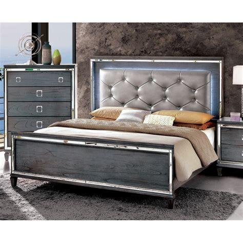 Heiner Contemporary Upholstered Panel Footboard