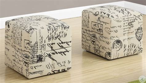 Heisler Vintage French Ottoman (Set of 2)