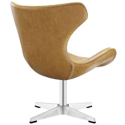 Helm Vinyl Lounge Chair