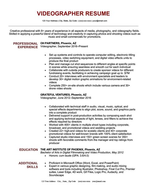 help with resume writing for free