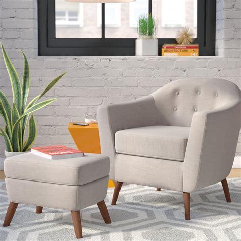 Henley Barrel Chair and Ottoman