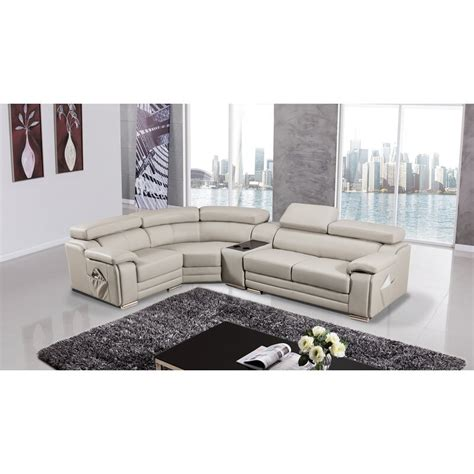 Hennigan Leather Sectional