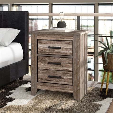 Herard 2 Drawer Nightstand