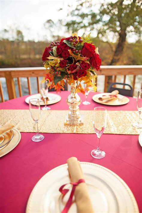 Herbstliche Hochzeitsdeko