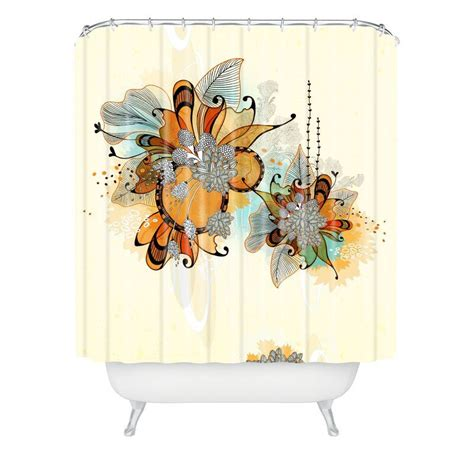 Herkimer Sunset Extra Long Shower Curtain