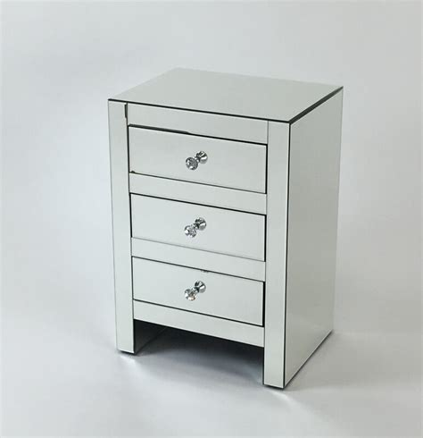 Hessle 3 Drawer Mirrored Chest