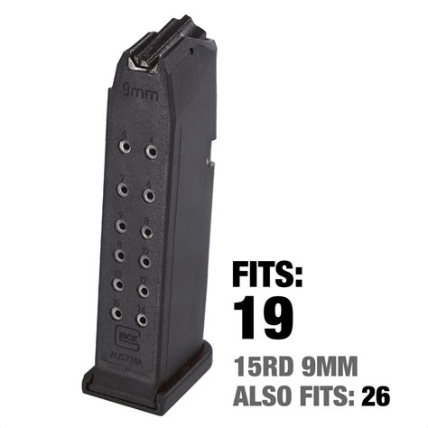 Glock-19 High Capacity Glock 19 Magazines.