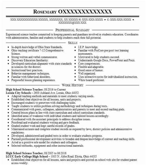 sample resume for physics teachers in india how to make a resume
